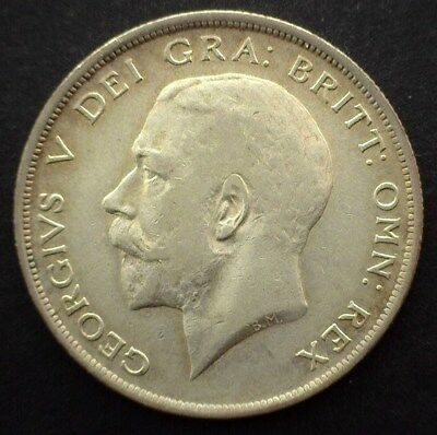 Great Britain 1913 Half Crown  Choice Extremely Fine