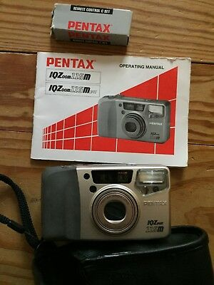 vintage pentax iq zoom 115m camera with operating manual 9 99 rh picclick com IQ 120 Average IQ Score