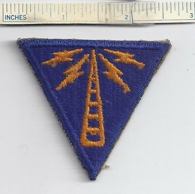 WW2 US Patch ARMY AIR FORCE COMMUNICATIONS SPECIALIST USAAF- Shoulder WWII USA
