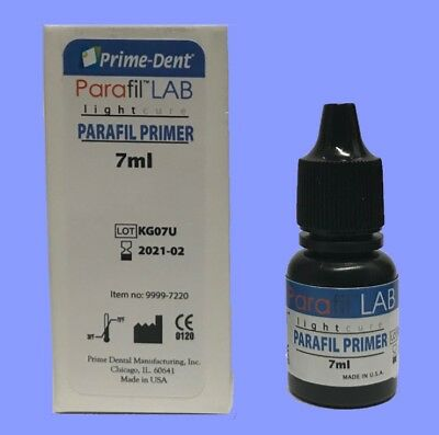 Prime Dental Parafil™ LAB Metal Primer 7ml bottle Bonding Agent