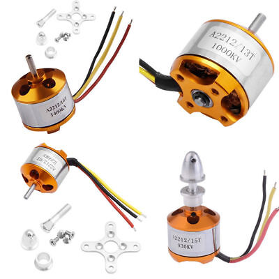 930/1000/1400/2200/2700KV A2212 Outrunner Motor Brushless Aircraft BBC