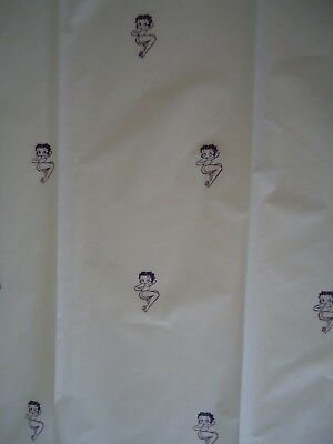 BETTY BOOP POSE TISSUE PAPER Hand Stamped Gr8 for gift giving so K@@L FREE SHIP