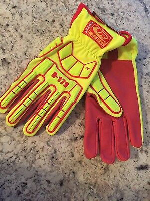 R-179 Super Hero Gloves By Ringers Gloves Large New With Tags +Free Shipping