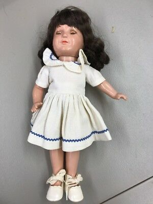 """Madame Alexander Composition Jane Withers Doll 13"""" Original Clothes Beautiful"""