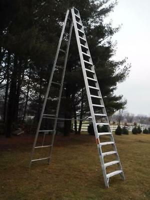 Louisville AS1020 20 ft 300lb Rated Aluminum Step Ladder A-frame ILLINOIS PICKUP