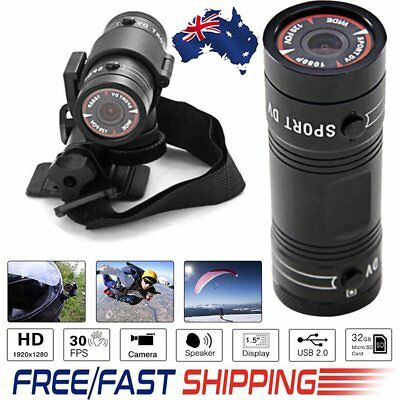 F9 HD 1080P Action Sports Camera Car Bike Motorcycle Helmet  DVR Video Recorder