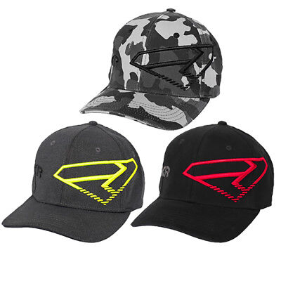 FXR Split Hat Authentic Curved Bill Flex-Band Comfort MX Snowmobile