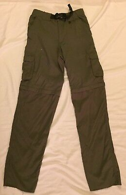 Boy Scouts Youth Green Switchback Converticle Pants Size Youth XL