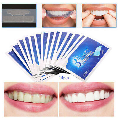 04| bande Blanchiment des Dents-Blanchisseur-Dentaire-Blancheur-teeth strips