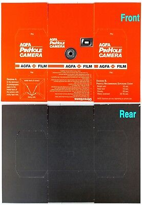 Agfa Promotional Pin Hole Fold up Camera unused