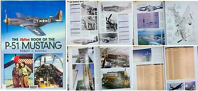 FlyPast Book of P-51 Mustang Aircraft, Large Book