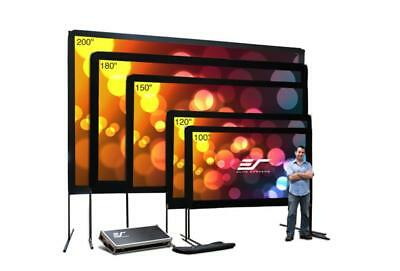 """Elite Screen OMS150H Yard Master Series 150""""(16:9) DynaBrite Projector Screen"""