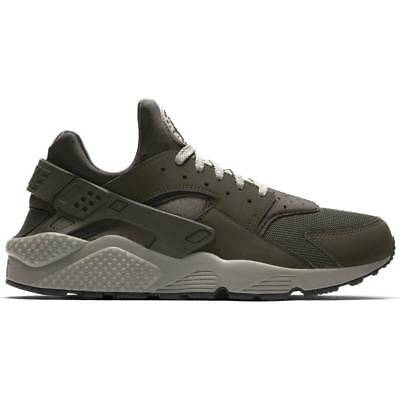 new concept 160ad 66e98 New Nike Men's Air Huarache Running Shoes (318429-311) Olive Green