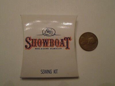 Showboat Hotel and Casino Atlantic City, NJ SEWING KIT - CLOSED casino