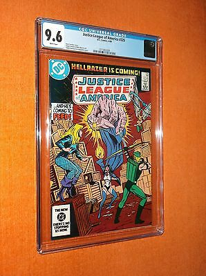 JUSTICE LEAGUE OF AMERICA #225 CGC 9.6 - Sharp with limited CGC availability!!!