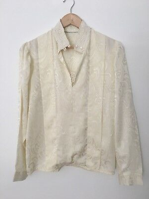 Vintage 80's ladies blouse