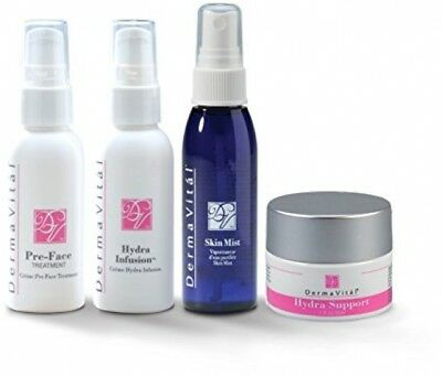 DermaVital 4 Piece Skin Care System - Improves Fine Lines and Wrinkles - From