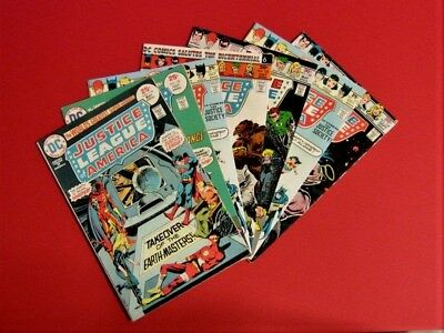 Justice League of America / Bronze Age - (7 Comic Book Lot)