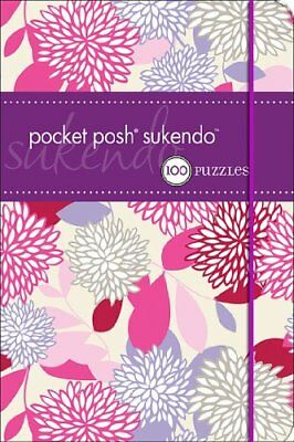 Pocket Posh Sukendo: 100 Puzzles (Kendoku) by The Puzzle Society Paperback Book