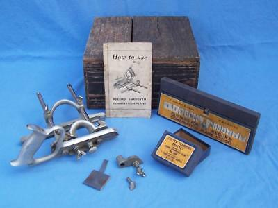 RECORD No 050 IMPROVED  COMBINATION PLANE  COMPLETE