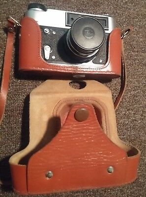 Old Soviet Film Camera Fed-5B Made In Ussr
