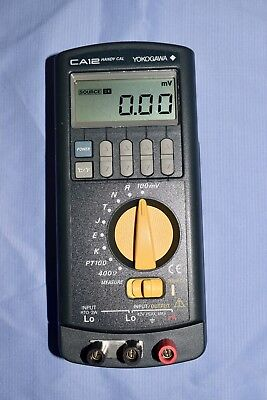 Yokogawa CA12 Temperature Calibrator (Handy Cal)