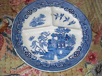 Antique Maastricht Holland Petrus Regout WIllow Pattern plate