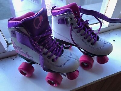 Girls Roller Boots Size 2. Hardly used, VGC. From a smoke and pet free home