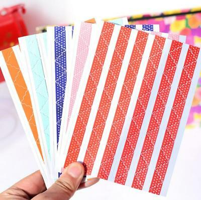 78pcs curvy Self-adhesive Photo corners stickers for scrapbook album ST108B