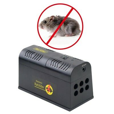 Electrocute Electronic Rat Trap Mice Mouse Rodent Killer Electric Shock EU