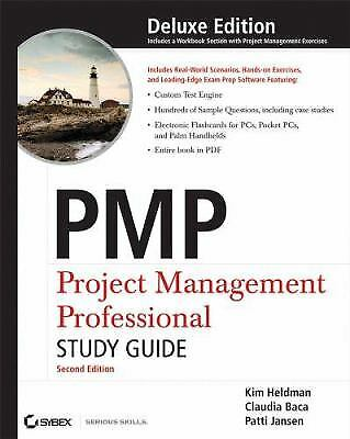 pmp project management professional exam study guide by heldman kim