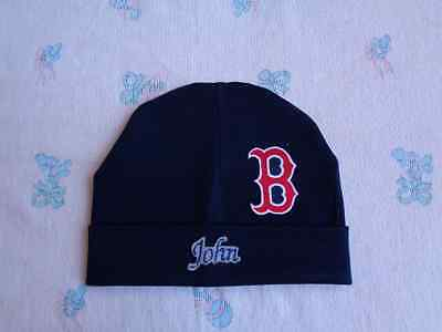 Boston Red Sox Personalized Baby Hat (0-2 year)
