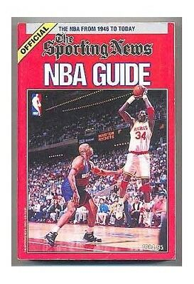 The Sporting News Official Nba Guide 1994-95 by Ekstrand, Chris Book The Cheap