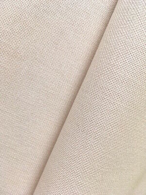 Ivory / cream  32 count Zweigart Murano evenweave fabric 100 x 140 cm