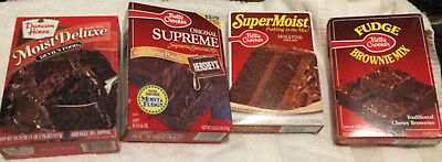 NOS Vintage Betty Crocker & Duncan Hines Cake Mix New Unopened Boxes