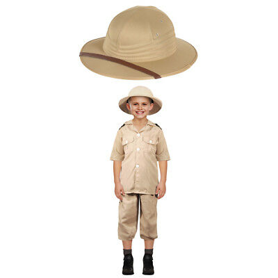 Kids Safari Explorer Pack Costume and Hat Adventurer Ranger Fancy Dress Boys  sc 1 st  PicClick UK & KIDS SAFARI EXPLORER Pack Costume and Hat Adventurer Ranger Fancy ...