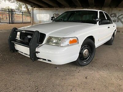 2010 Ford Crown Victoria  2010 Crown Victoria P71 Police Interceptor!  LOW MILES