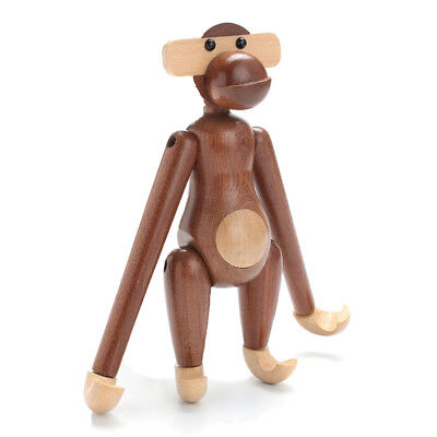 Teak Wood Monkey Doll Wooden Monkey Action Figure Great Gift