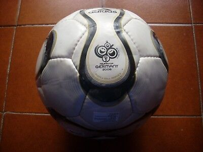 Deadstock Adidas Teamgeist Football Ball World Cup 2006 Germany Italy 4 New Vtg