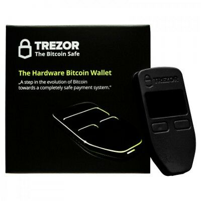 Trezor Cryptocurrency Hardware Wallet / Brand New