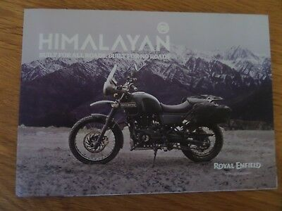 Royal Enfield Himalayan Motorcycle Sales Brochure 2018