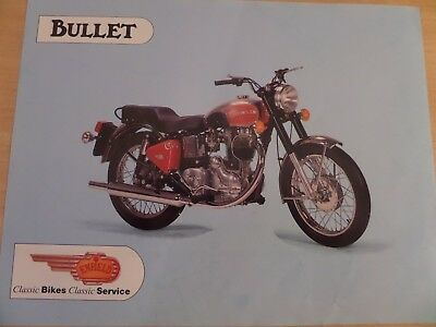 Royal Enfield Bullet 350/500 Motorcycle Sales Brochure
