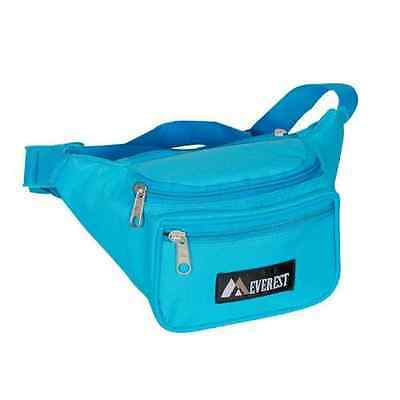 Everest Signature Fanny Pack 044KD Pink-Cotton Poly-Key Clip//New-Free Ship