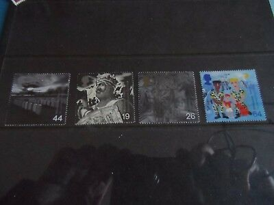 GB mm the soldier's tale stamps 1999