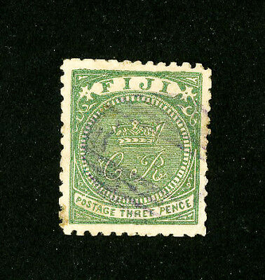 Fiji Stamps # 16 Superb Used Scott Value $400.00