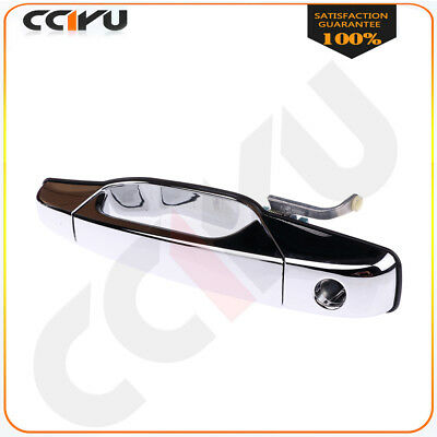For 07-13 Chevy GMC Cadillac Front Left Driver Exterior Chrome Door Handle New