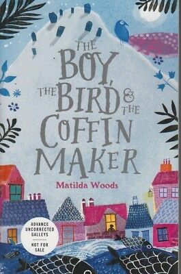 Arc bird and the blade megan bannen debut young adult june 2018 the boy the bird and the coffin maker by matilda woods arc paper 9780525515210 malvernweather Image collections