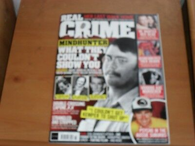 Real Crime magazine # 033  MINDHUNTER WHAT THEY COULDNT SHOW YOU FREE POST UK