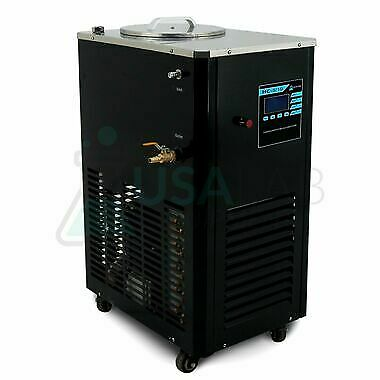USA Lab 110V 5L -10°C to 99°C Magnetic Recirculating Heater Chiller DFY-5/10