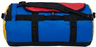 The North Face Base Camp Duffel Travel Bag, M Bright Cobalt Blue/Black